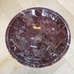 Rosso Lepanto/Levanto Lilac Purple lavabo en marbre de la fenêtre de l'Intérieur/de bas de porte de tuiles/Pocket