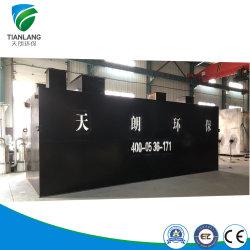 معدات معالجة مياه الصرف الصحي STP لمعالجة مياه الصرف في موقع البناء