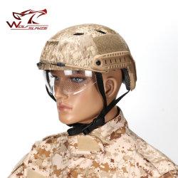 Tête de tactique militaire Casque de protection BJ Casque sport Airsoft rapide