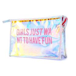 PVC装飾的な袋、卸し売りエヴァの明確な透過ビニールプラスチック構成の袋のクラッチ携帯用旅行オルガナイザーの洗面用品のジッパーの毎日の記憶の包装のギフト袋