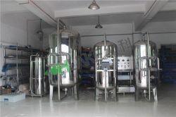 Filtro de carbono de acero inoxidable Depósito / filtro de arena para el sistema de riego
