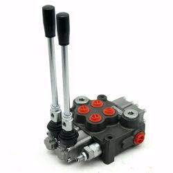 Commerce de gros leviers 1~7 60LPM, soupape de commande directionnelle hydraulique