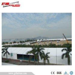Heavy Duty 15x60m tienda de nave industrial con la pared sólida para la venta