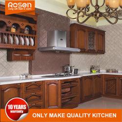 Accueil utilisé Brown RTA de style classique de meubles en bois massif des armoires de cuisine