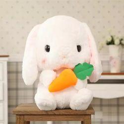 طويلة أذن جزر أرنب قطيفة لعبة محبوب أرنب