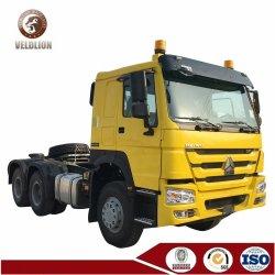 Sinotruk 원동기 6X4 500ho 판매를 위한 끝 콘테이너 트랙터 트랙터 트럭 헤드