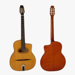 عازف أيرس الماركة Acoustic يدوي الصنع غراند بوش غجري جاز جيتار