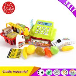 극장 작은 아이 플라스틱 금전 등록기 교육 장난감