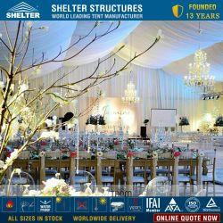 20 X 40 خيمة مع جوانب من الألومنيوم الإطار الخيام الأسعار حفلات الزفاف في سدود