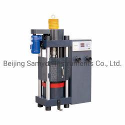 Vis à bille électrique Réglage Machine d'essai de compression