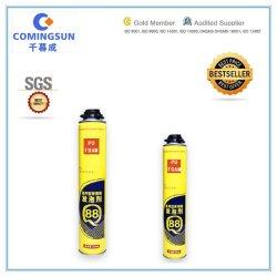 O preenchimento de lacunas de construção excelente material químico de Spray de poliuretano PU/expandindo a espuma de isolamento para construção