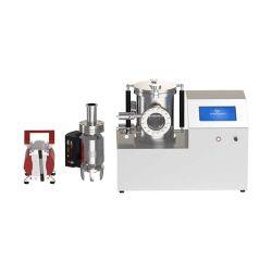 Vide élevé pulvérisation plasma coucheuse de l'évaporation thermique pour la production de carbone et matériau Non-Conducting Gold-Sprayed électrodes de test
