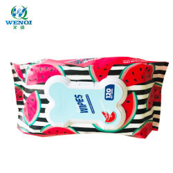 日本市場の高品質はぬれたタオルをかわいがる