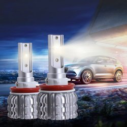 S1, H4, H7 9005 9006 H11 светодиодные лампы фары автомобиля Auto светодиод/дальнего света фар 50W 8000лм 6500K 12V 24V Offroad 4X4 погрузчика