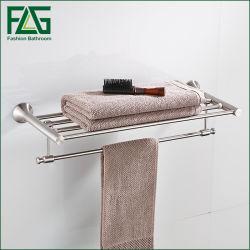 Cremagliera di tovagliolo verticale del bagno di estensione dell'acciaio inossidabile di stile dell'hotel di alta qualità di Flg