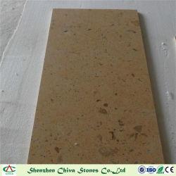 Los materiales de construcción de losas de piedra caliza de color amarillo de Henan/títulos/Pavimento Piso/bordeando