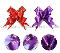 OEM-Geschenkband aus PP mit Schmetterlingsmotiv und Pull-Schleife