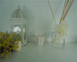 شموع عالية الجودة مع كوب زجاجي وكأس زجاجي الجملة