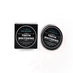 Etiqueta Privada de bambu com suporte dos Dentes do Dente de carvão activado em pó de branqueamento de dentes