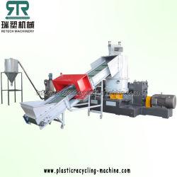 Plastic Film PE/PP/HDPE/LDPE/LLDPE/BOPP/Zak/Geweven Zak/niet Geweven/Vezel/het Recycling van de van de Korrelende Lijn/Installatie/Agglomeratie van de Korreling/Compacte Pelletiserende Machine