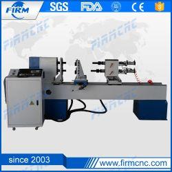 China venda de madeira CNC Máquina torno rotativo para o trabalho da madeira