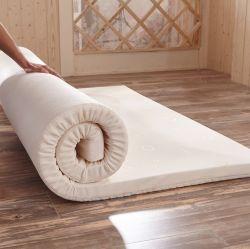 빨 수 있는 매트리스 침대 패드 덮개 기억 장치 거품은 침대 세트 침대 패드 중국을 쉽 포장했다