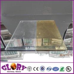 Vertoning van de Reclame van het Blad van de Spiegel van 100% de Maagdelijke Materiële Zilveren Acryl