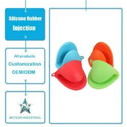Настраиваемые силиконовые защитные средства для приготовления пищи близости перчатки