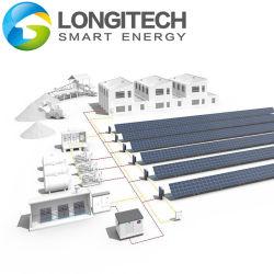 100kw-1MW PV Gerador Diesel Power System Backup Solar
