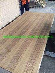 Ash/Cherry/nogal/Maple/fantasía contrachapado para la decoración de madera de teca