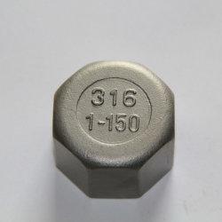 Raccord de tuyau en acier inoxydable 304&316 Bouchon à tête hexagonale