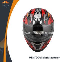 普及したオートバイのヘルメットの高品質の落下表面オートバイのヘルメット