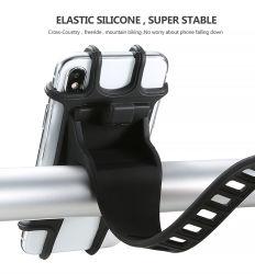 Vélo de silicone universel Support téléphone cellulaire mobile Support vélo