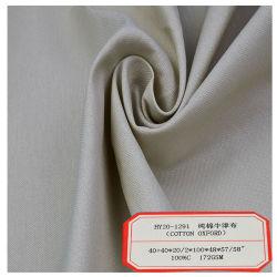 Venda por grosso de alta qualidade de algodão Oxford utilizado para os homens o vestuário de malha de Camisa
