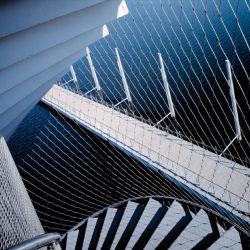 La calidad de bonito diseño arquitectónico, el enrejado metálico de malla de alambre de la cuerda de cable