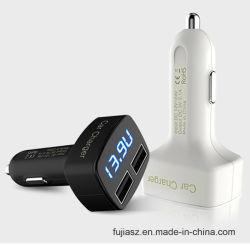2 порт высокого качества, зарядное устройство для аккумулятора автомобиля без кабеля