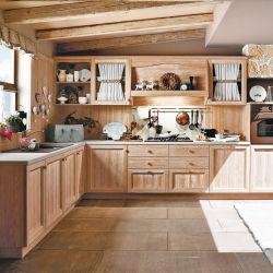 precio de fábrica gabinetes de cocina, diseños clásicos armarios modulares de cocina