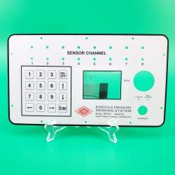 Personalizar impermeável ao ar livre da camada de proteção ESD IP67 Dome de metal em relevo os orifícios de Corte do teclado de membrana com Blindagem de carbono