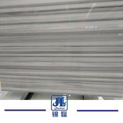 China branco puro branco absoluto Royal veias pulmonares direitas laje de mármore branco para pavimentos de azulejos de parede superior do contador