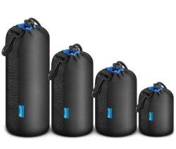 Tubo ispessito durevole dei sacchetti del sacchetto dell'obiettivo del neoprene di alta qualità (CY3724)