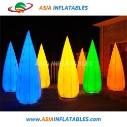 موديلات مخروط مطاطي دائرية ملونة، مخروط مطاطي LED لمرحلة / معرض / عرض / إعلانات / زفاف