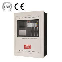 Lpcb a approuvé le système d'alarme incendie adressables 32 Panneau de contrôle de zone