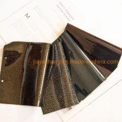 Bunter Funkeln-Entwurf Belüftung-synthetisches ledernes Gewebe für Schuhe/die Beutel-Herstellung