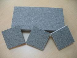 Flammé Fuding de granit noir de carreaux de pavage de basalte de carreaux en pierre naturelle//dalles