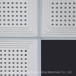 Gypsum Acoustic Ceiling Panel (Y003)の機能そしてDecoration Material