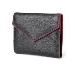 Custom Трехстраничные кожаный кошелек конверта наличными женщин Wallet