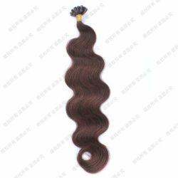 № 2 U Кончик волос расширений орган высшего качества текстуры кривой Super двойной обращено Virgin человеческого волоса продление кожу Weft лак для ногтей волос наконечника сопла