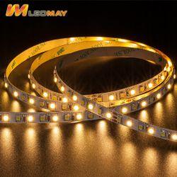 Le SMD3528 9.6W/M CCT Bande souple de lumière LED réglable