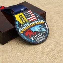 De maat Medaille van de Afwerker van het Metaal van de Douane/Lopende Medaille/de Medaille van de Marathon/het Rennen Medaille/de Medaille van Sporten