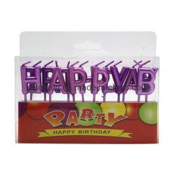 Alles- Gute zum Geburtstagkuchen-Kerze-Kuchen-Deckel-Zeichen-Kerzen für Hochzeitsfest